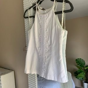 Lily Pulitzer white top